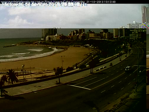 Mar Del Plata webcam - Mar Del Plata webcam, Buenos Aires Province, General Pueyrredon Partido